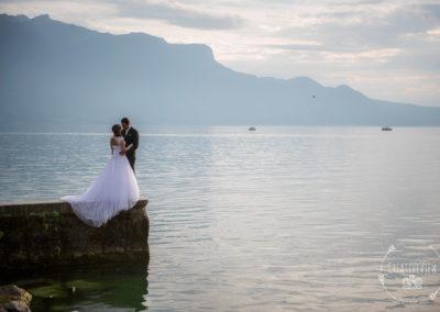 Photographie des mariés juillet | Vevey, Vaud | CreativeView