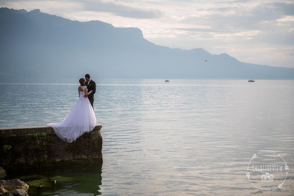 photographie de mariage Morges